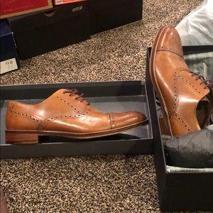 Johnston & Murphy brown men's shoes